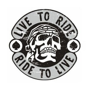 Live To Ride Ride To Live